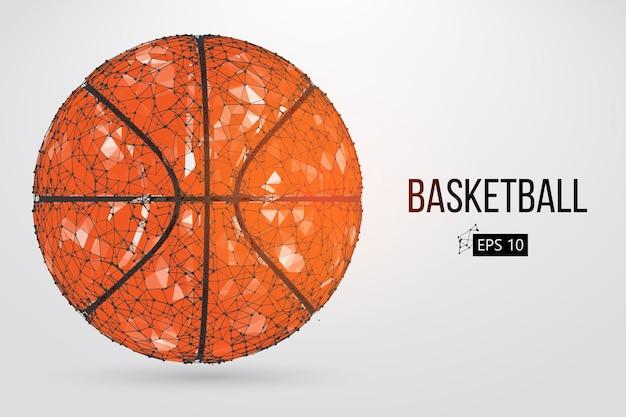 Силуэт баскетбольного мяча