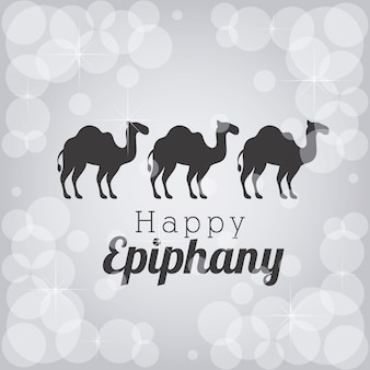 Silhouettes epiphany camels