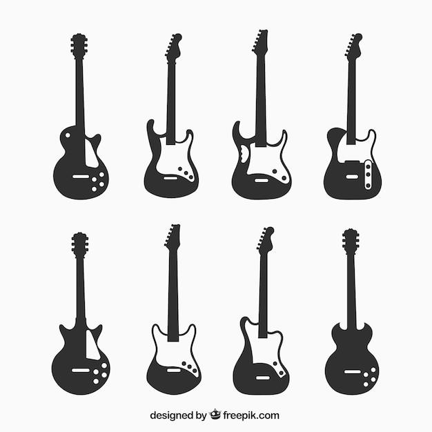 electric guitar vectors photos and psd files free download rh freepik com electric guitar vector images electric guitar vectors with notes inside