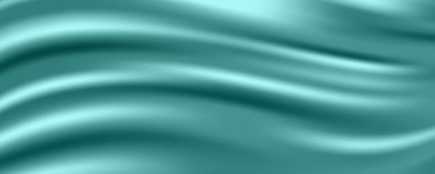 シルク生地の抽象的なバナー
