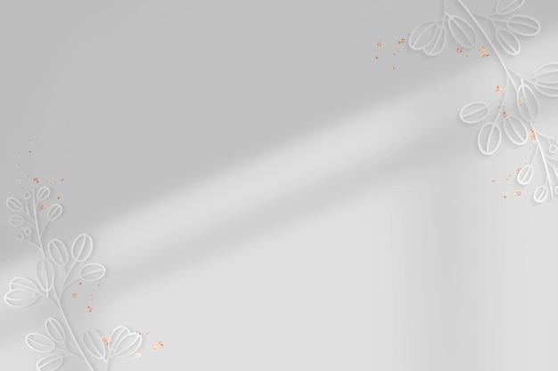 銀の花の背景