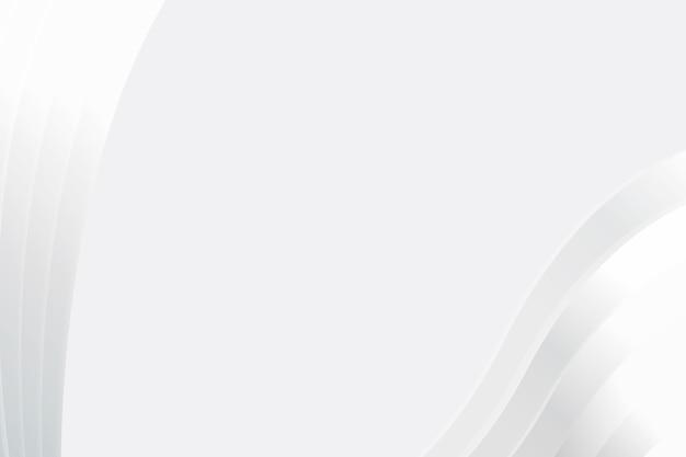 Cornice d'argento semplice sfondo vettoriale astratto