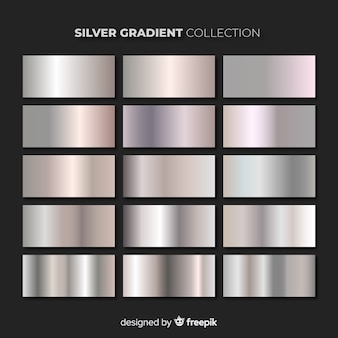 Silver gradient pack