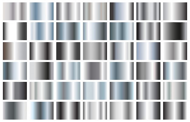 Silver gradients collection