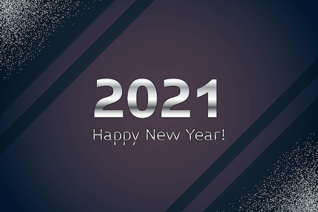 シルバー新年2021コンセプト