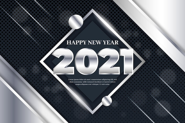 Silver new year 2021
