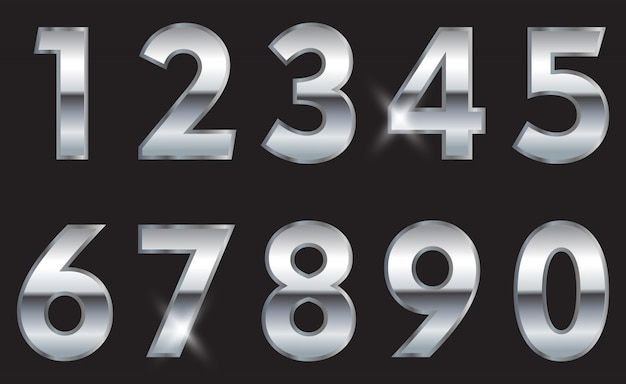 Silver numbers set