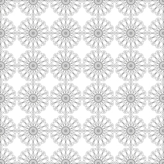 Silver pattern background