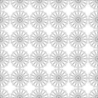 Silver pattern background