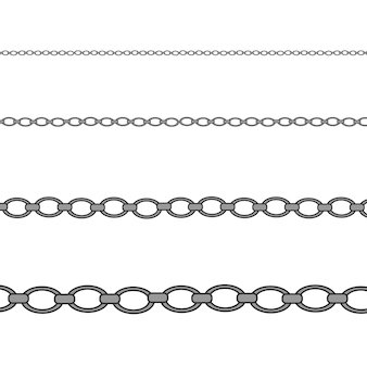 Silver, platinum necklace. luxury shiny jewelry chain.