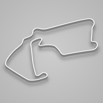 Silverstone circuit for motorsport and autosport. britain grand prix race track.