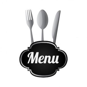 Silverware menu