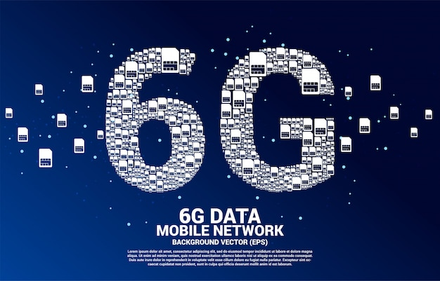 モバイルsimカードネットワーキングからの6g