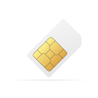 Sim card chip