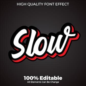 Simple 3d script text style  font effect
