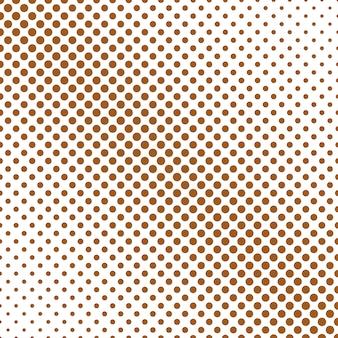 単純な抽象的なハーフトーンポルカドットパターンの背景デザイン