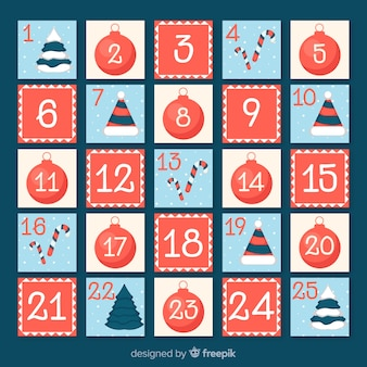 Simple advent calendar