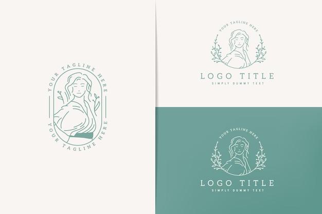 Простая и аккуратная линия логотипа