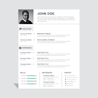 Simple and useful resume template