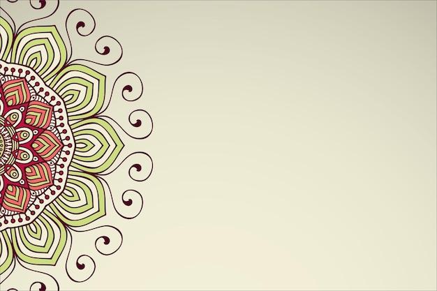 Sfondo semplice con elementi geometrici