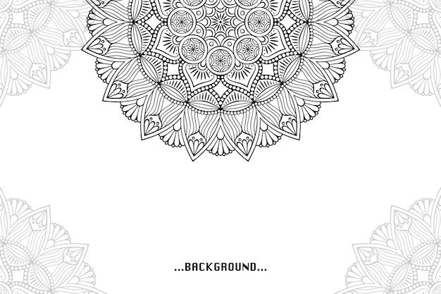 幾何学的な要素を持つシンプルな背景