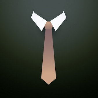 Simple background with tie
