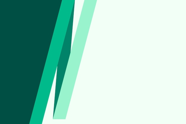 Simple blank green background for business