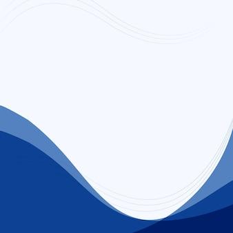 Sfondo semplice curva blu per affari