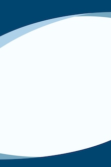 Vettore di sfondo curvo blu semplice per affari