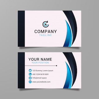Simple business card template   image