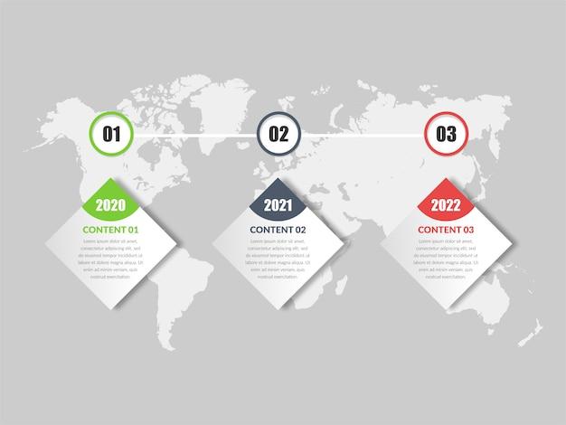 Simple business infographic element  design