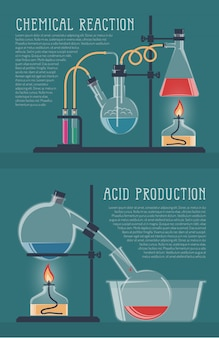 Simple chemical reactions