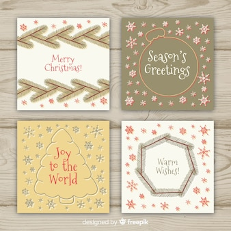 Simple christmas card collection