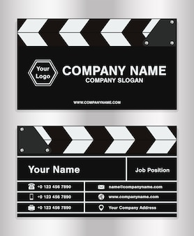 Simple clapperboard
