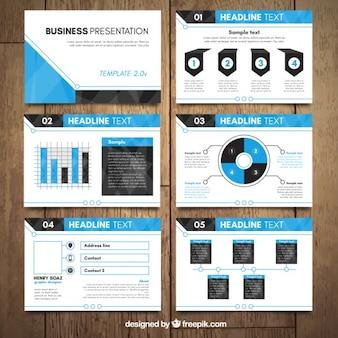 Simple corporative presentation