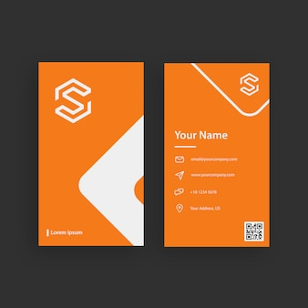 Simple and creative professional business card