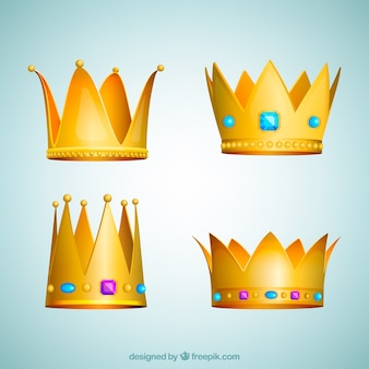 Simple crown collection