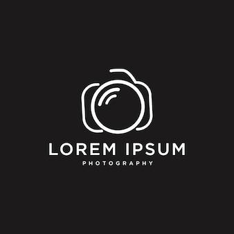 Simple elegant camera logo