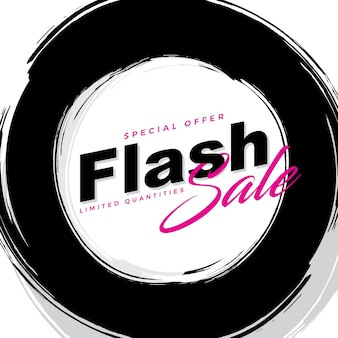 Simple flash sale banner