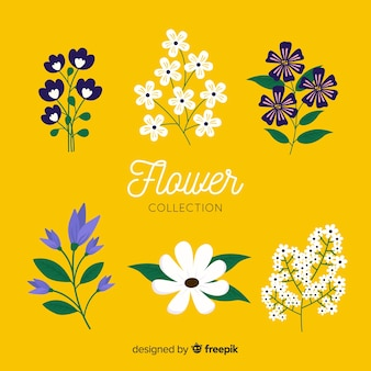 Simple flower collection