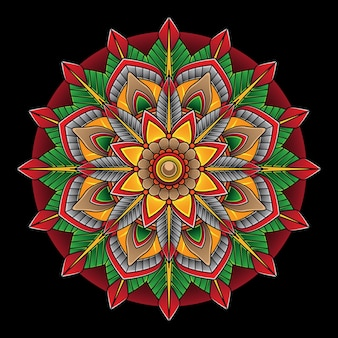 Simple flower flash tattoo