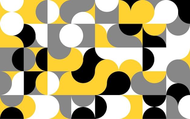 간단한 기하학적 벡터 패턴 일러스트