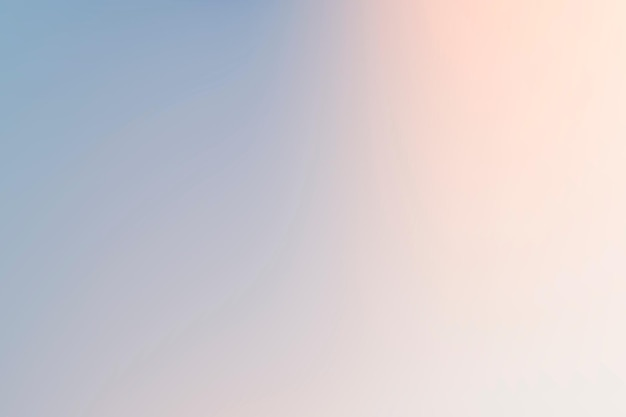 Simple gradient background vector in winter blue and pink