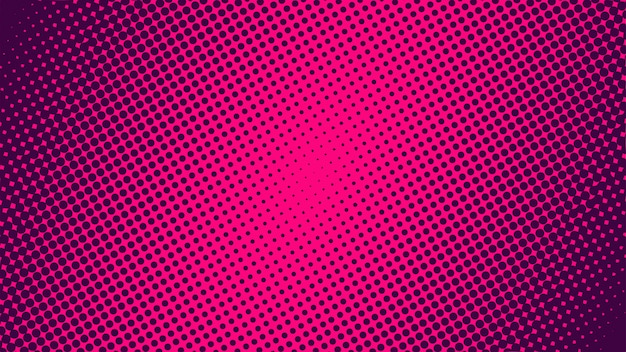 Simple gradient halftone background