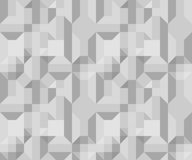 Simple grey volumetric pattern