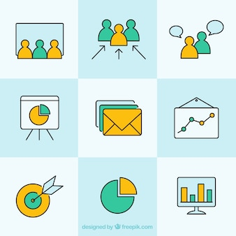Простые иконки для бизнеса