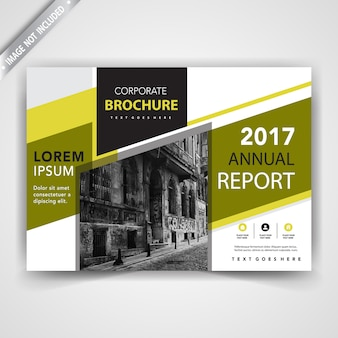 Simple leaflet cover template