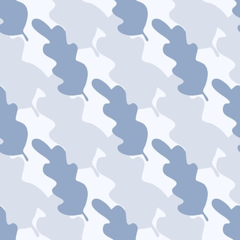 Simple leaves seamless pattern. abstract backdrop for textile or book covers, wallpapers, design, graphic art, wrapping