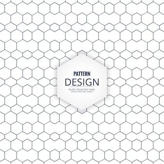 Simple minimal geometric pattern