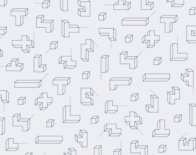 심플한 패턴 디자인 템플릿